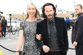 A lovely photo of Keanu Reeves with his Girlfriend Alexandra Grant ...