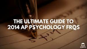 ap psychology essay rubric  ap psychology essay rubric