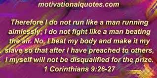 Image result for 1 Corinthians 9:24-27