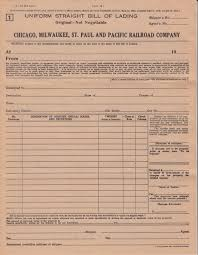 from order to billing more milw paper modeling the cnw in this second form is an uniform order bill of lading an order bill consigns the goods to the order of a person firm or corporation