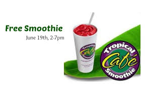 Image result for tropical smoothie cafe flip flop day