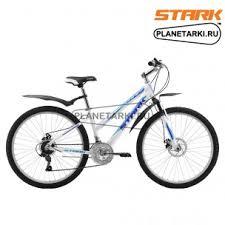 <b>Велосипед Stark Luna 26.1</b> D 2017 бело-синий