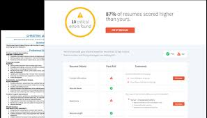 resume check   free resume review   livecareerresume check™ identifies  common resume problems in these categories