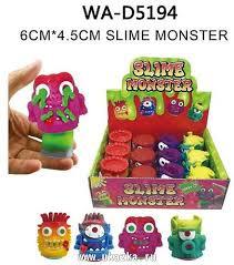 """Игры и Игрушки - <b>Игрушка</b>-<b>антистресс Лизун</b> """"<b>Slime</b> monster"""", в ..."""