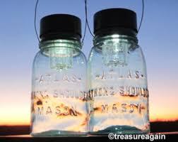 atlas mason jar solar lights pale blue hanging antique outdoor lighting hazel atlas canning jar lights ball mason jar solar lights