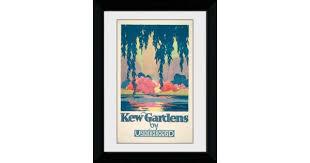 Transport For London <b>Kew Gardens</b> Framed Collector Print