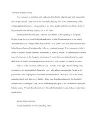 Writing Letter Of Recommendation For Graduate Student   letters of
