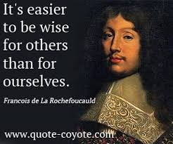 Francois de La Rochefoucauld Quotes. QuotesGram via Relatably.com