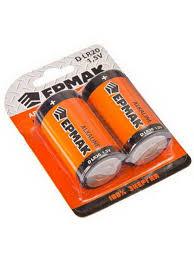 """Батарейки 2шт """"Alkaline"""" щелочная, <b>тип D</b> (LR20), 1,5В Ермак ..."""