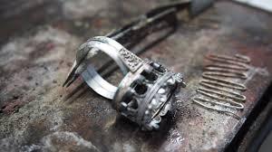 Ювелирка своими руками: Эпизод 1 <b>Серебряное кольцо</b> с ...