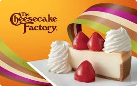 Buy The Cheesecake Factory Gift Card | Kroger