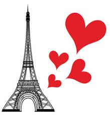 <b>Paris</b> Eiffel <b>Tower Love</b> Heart Vector Images (over 590)