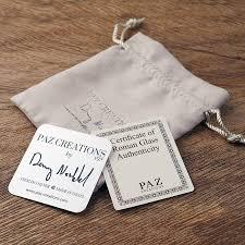 PZ Paz Creations <b>925 Sterling Silver</b> Iridescent <b>Roman</b> Glass and ...