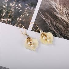 2019 Korean Temperament Simple <b>Flower Earrings</b> Wholesale ...
