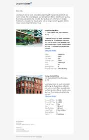 new propertybase example templates propertybase help center commercial multiple listing email template listings for s and lease