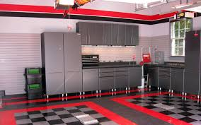 Red Tile Paint For Kitchens Luxurious Modern Apartment Interior Design With Minimalist Black
