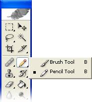 Image result for image of photoshop brush tool