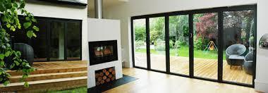 aluminium folding patio doors