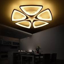 <b>LED Modern</b> Flower <b>Iron Acryl LED</b> Lamp.<b>LED</b> Light.Ceiling Lights ...