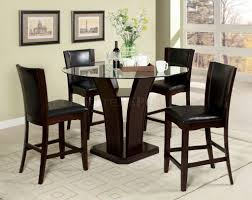 room fascinating counter height table: pub height dining set counter height breakfast table counter height dinette sets
