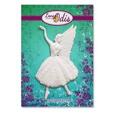 <b>Декоративная фигурка</b> - Фея-<b>балерина</b>, <b>размер</b> 45x80 мм, 1 шт ...