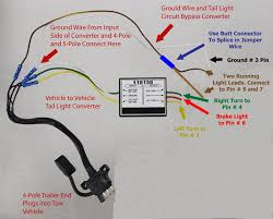 trailer wiring adapter pin to way flat solidfonts adapter 7 pin round to 4 flat wiring 85232 reese towpower