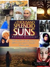 khaled hosseini s a thousand splendid suns photo collage piccollage piccollage