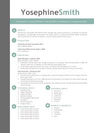 creative resume templates secure the job resumeshoppe the yosephine resume