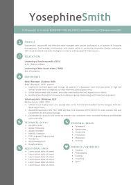 creative resume templates secure the job resumeshoppe the yosephine resume