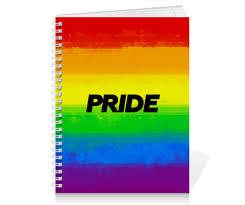 Тетрадь на пружине Pride #2683694 от ualluon