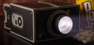 Portable Cinema Universal Cardboard Smartphone Projector ...