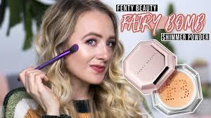 NEW <b>Fenty Beauty</b> Fairy Bomb Shimmer Powder Review - YouTube