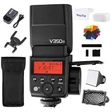 godox v350n ttl hss 1 8000s 2 4g x system camera speedlite flash with built in li ion battery xpro n transmitter for nikon