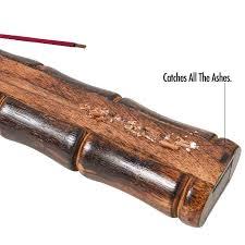 <b>Bamboo</b> Shape Incense Burner. <b>Handmade</b> Large Incense Holder ...