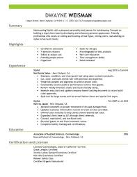 sample cosmetology resume sample esthetician resume objective hair hairstylist resume hair stylist student resume sample hair student hair stylist resume examples hair stylist resume