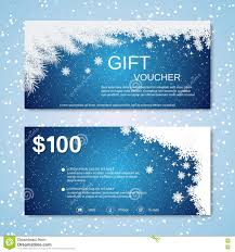 merry christmas gift voucher certificate template design stock christmas and new year gift voucher stock photos