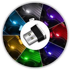 <b>Car Atmosphere</b> Ambient Light LED Mini <b>USB</b> Light Interior ...
