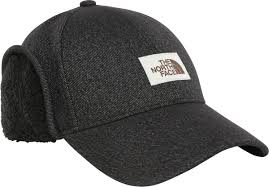 <b>Кепка The North Face</b> Campshire Earflap Hat, цвет: темно-серый ...