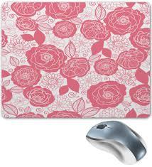 Коврик для мышки Бело-<b>розовый</b> узор #2242982 от THE_NISE