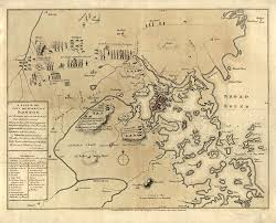 and concord map  lexington and concord map 1775