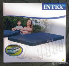 Отзыв о <b>Тент Intex</b> каркасного бассейна Rectangular Frame ...