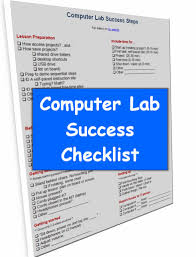 computer lab procedures checklist computers the o jays and teaching computer lab success checklist from b weigle at classroom caboodle
