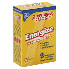 Energize The All-day Energy Pill Dietary Supplement from ...
