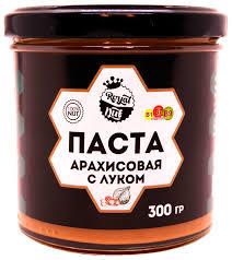 <b>Арахисовая паста Royal</b> Nut с Луком (300гр) - Характеристики ...