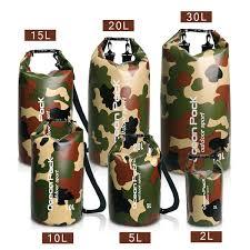 2019 Hot 5L/<b>10L</b>/15L/20L/30L <b>Camouflage</b> Ocean Pack Water Proof ...