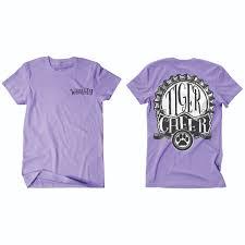 worley lavender cheer t shirt flipdog sportswear tiger cheer