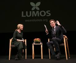 j k rowling and eddie red ne talk care for children and lumos j k rowling and academy award winning actor eddie red ne discuss lumos the charity founded by rowling over a decade ago at a special screening of warner