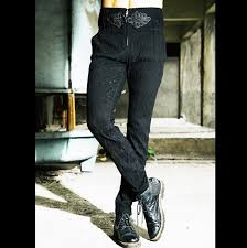 Free shipping <b>large size men</b> pants Autumn and <b>winter</b> hair stylist ...