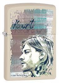 Купить <b>Зажигалка ZIPPO</b> 29051 <b>Kurt Cobain</b> - Курт Кобейн ...