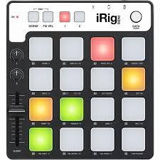 Купить <b>midi</b>-<b>контроллер ik multimedia irig</b> pads для ios, mac, pc в ...